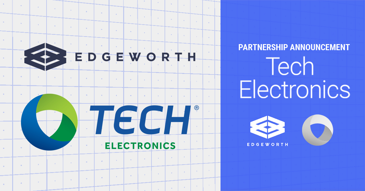 Edgeworth Announces Partnership with Tech Electronics