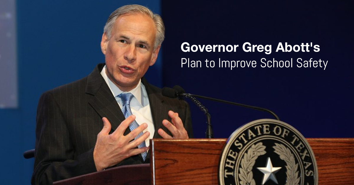 Texas Governor Unveils Plan To Address School Safety